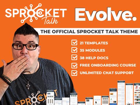 Evolve by Sprocket Talk: HubSpot CMS Theme